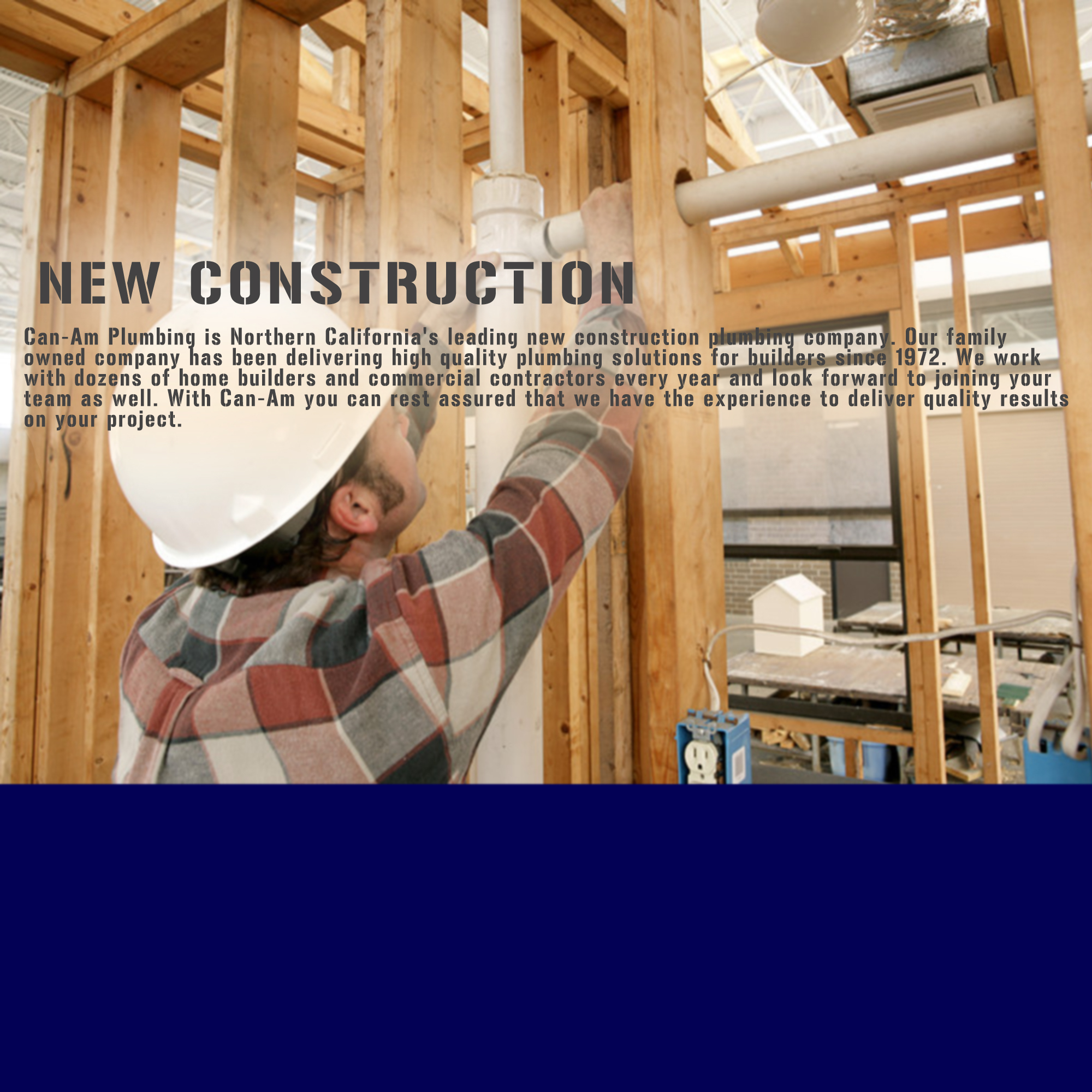 Newconstructionpage can am plumbing for New construction plumbing
