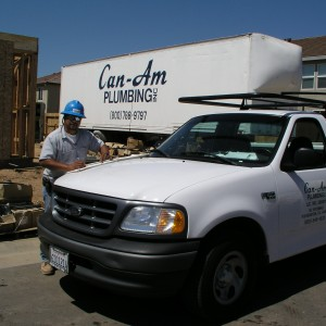 Livermore Based Can Am Plumbing at Construction Site